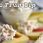 Toffee Fruit Dip