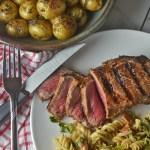 Easy Marinated Strip Steak
