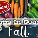 Fruits and Vegetables In Season in the Fall