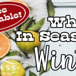 Fruits and Vegetables in Season in the Winter