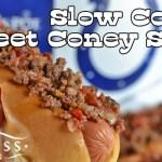 Slow Cooker Sweet Coney Sauce