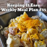 Easy Weekly Meal Plan #35
