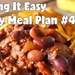 Easy Weekly Meal Plan #45