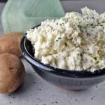 Garlic-Parmesan Mashed Potatoes
