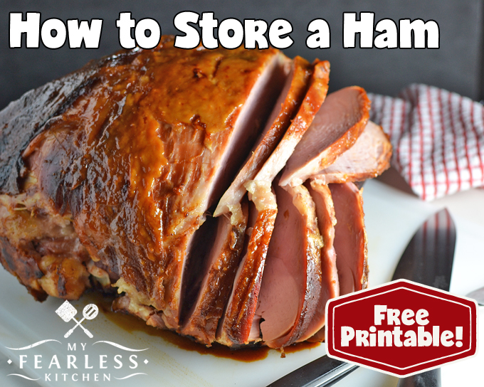 How to Store a Ham from My Fearless Kitchen. What's the best way to keep your ham until it's time to cook it? What about the leftovers? Can you freeze a ham? Get all the tips on how to store a ham here.