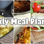 Easy Weekly Meal Plan #54