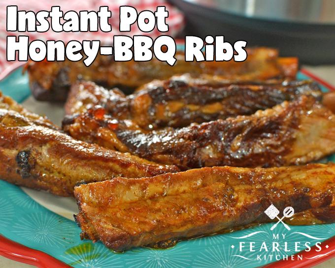 Instant Pot Honey-BBQ Ribs