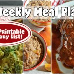 Easy Weekly Meal Plan #64