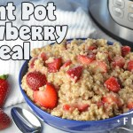 Instant Pot Strawberry Oatmeal