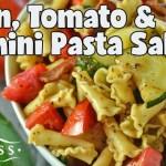Bacon, Tomato, and Zucchini Pasta Salad