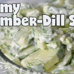 Creamy Cucumber-Dill Salad