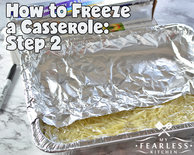 How to Freeze a Casserole from My Fearless Kitchen. Love the idea of making freezer meals, but aren't sure how to make it work? Get our best tips for freezing casseroles, and dinner will always be at your fingertips!