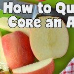 How to Quickly Core an Apple