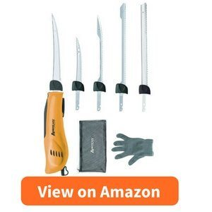 American Angler PRO Professional Grade Electric Fillet Knife Sportsmen's Kit review