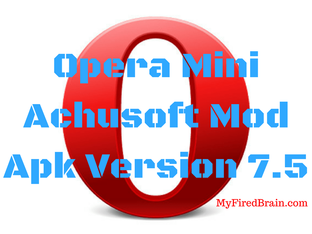 Surf Download Opera Mini Achusoft Mod | Zoubeck