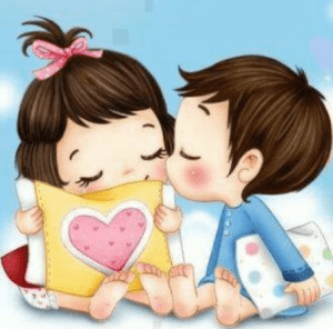 Whatsapp profile pic of cute couple