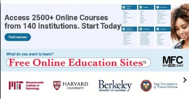 Free Online Education Websites