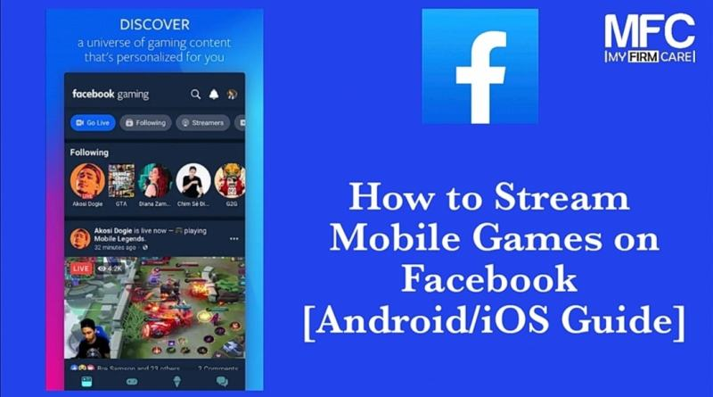 Stream Mobile Games on Facebook