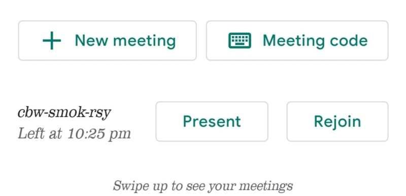 scheduled meetings