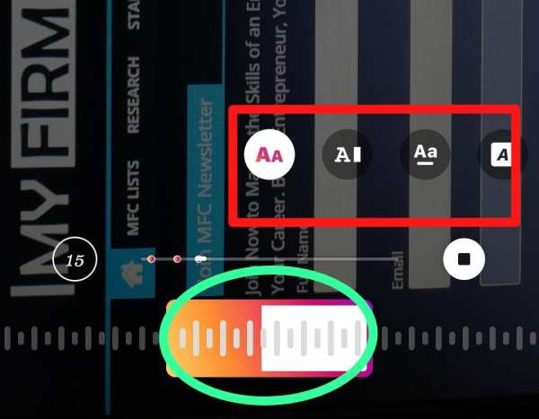 step 5 How to Add Music to Instagram Story