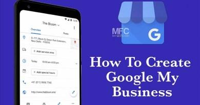 Create Google My Business