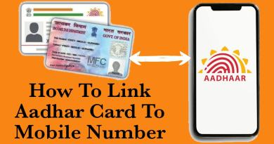 How to Link Aadhar Card to Mobile