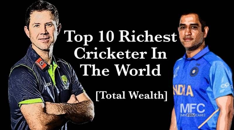 World Richest Cricketer