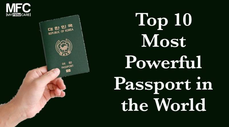 top 10 most powerful passport