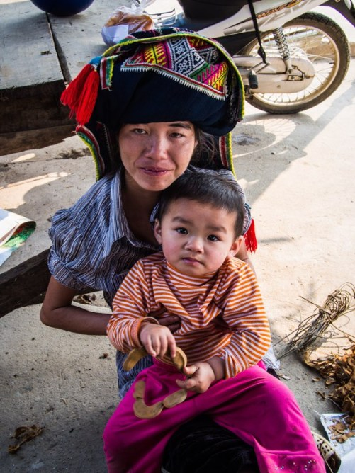 Mother and child, Tuan Giao.
