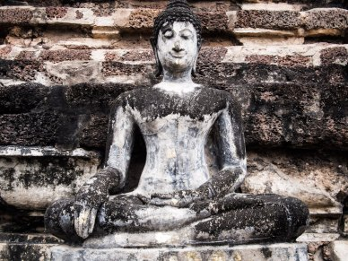 Crumbling but still divine, Sukhothai Historical Park.