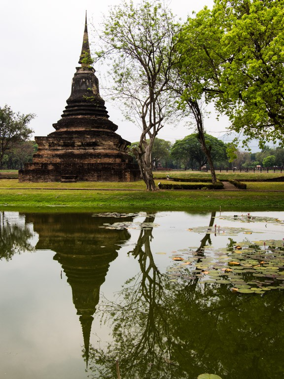 Reflecting glory, Sukhothai Historical Park.