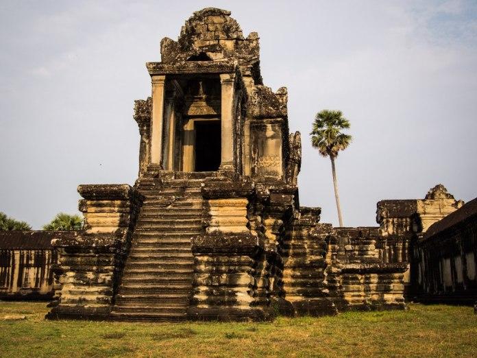 Outbuilding at Angkor Wat.