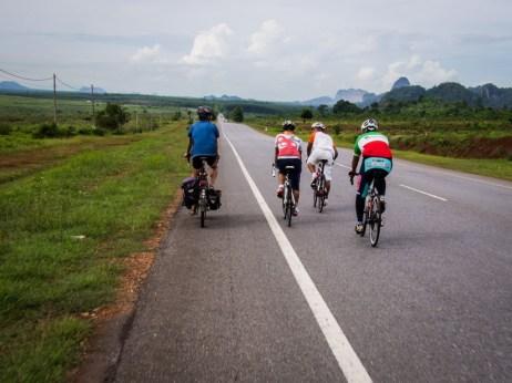 bike touring in Malaysia