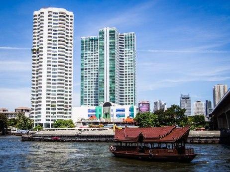 The Mandarin Oriental's guest boat, Bangkok.