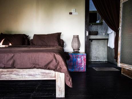 Inside the cabin, Namaste, Nusa Penida.
