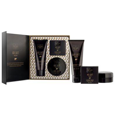 "Подаръчен комплект ""Au Lait Noir Luxurious"" (3 продукта) - 1 оп."