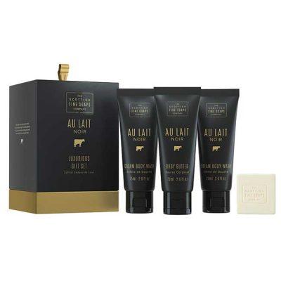 """Подаръчен комплект """"Au Lait Noir"""" (4 продукта) - 1 оп."""