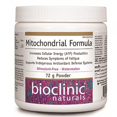Bioclinic Naturals, Митохондриална формула х 72 гр. пудра х 30 дози