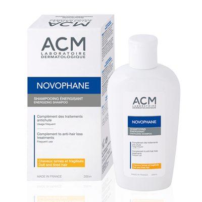 ACM Novophane/ Новофан, Енергизиращ шампоан против косопад - 200 мл