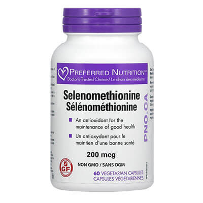 Селен (L-селенометионин) 200 мкг х 60 V капс.