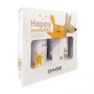 Babe Pediatric, Промопакет(Измиващ душ гел+Хидратиращо мляко за тяло)за бебета и деца, 2х500 мл