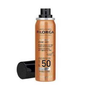 FILORGA UV-Bronze Mist, Слънцезащитен, освежаващ спрей за лице с SPF 50+, с Анти-ейдж действие, 60 мл.