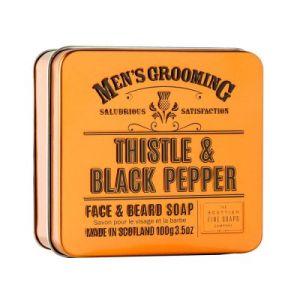 """Сапун за лице и брада """"Трън и пипер"""" - 100 гр."""