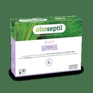 OlioSeptil, Олиосептил за сън (капсули с етерични масла) х 30
