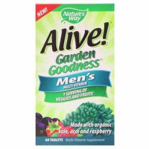 Алайв Garden Goodness, Мултивитамини за мъже х 60 таблетки