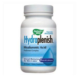 Nature's Way, Хидраплениш (колаген + хиалуронова киселина) 500 мг х 30 капс
