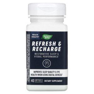 REFRESH AND RECHARGE - За преодоляване на умората и подобряване на съня х 40 софтгел капсули