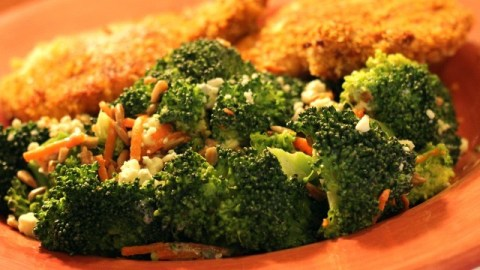 Broccoli with Blue Cheese