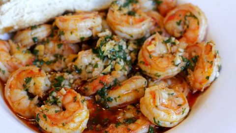The Best Garlic Shrimp Recipe You'll Ever Eat