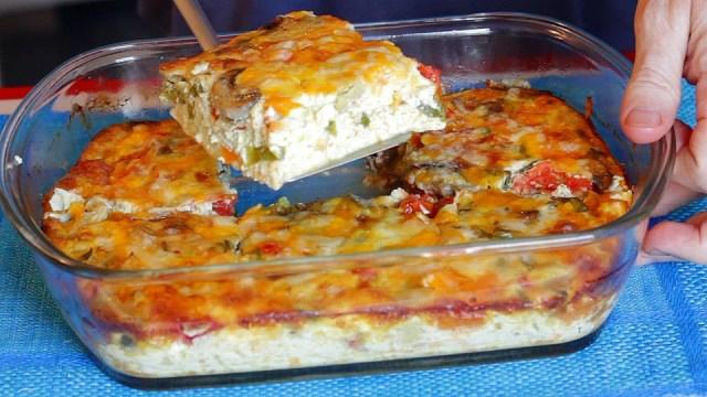 egg bake recipe